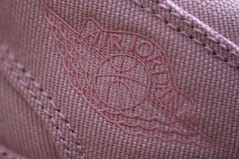 Air Jordan 1 Mid Nike Pastel Pink