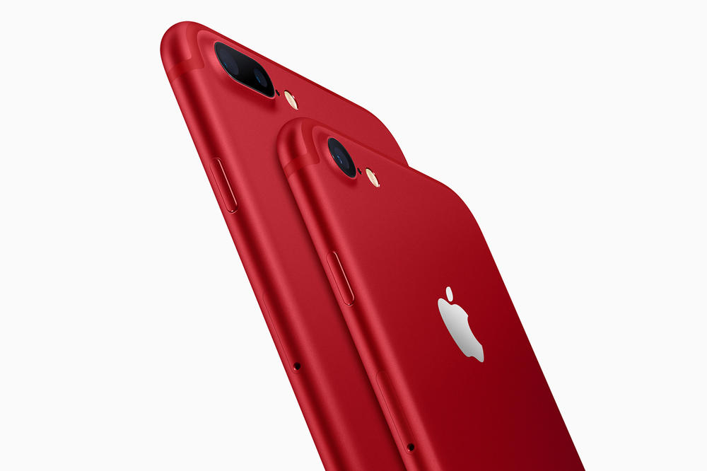 Apple (PRODUCT)RED iPhone 7 iPhone 7 Plus