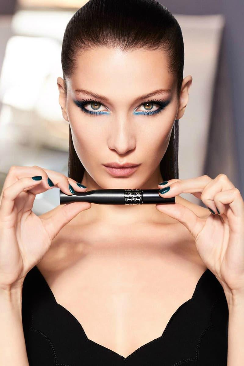 Bella Hadid Dior Makeup Beauty Campaign