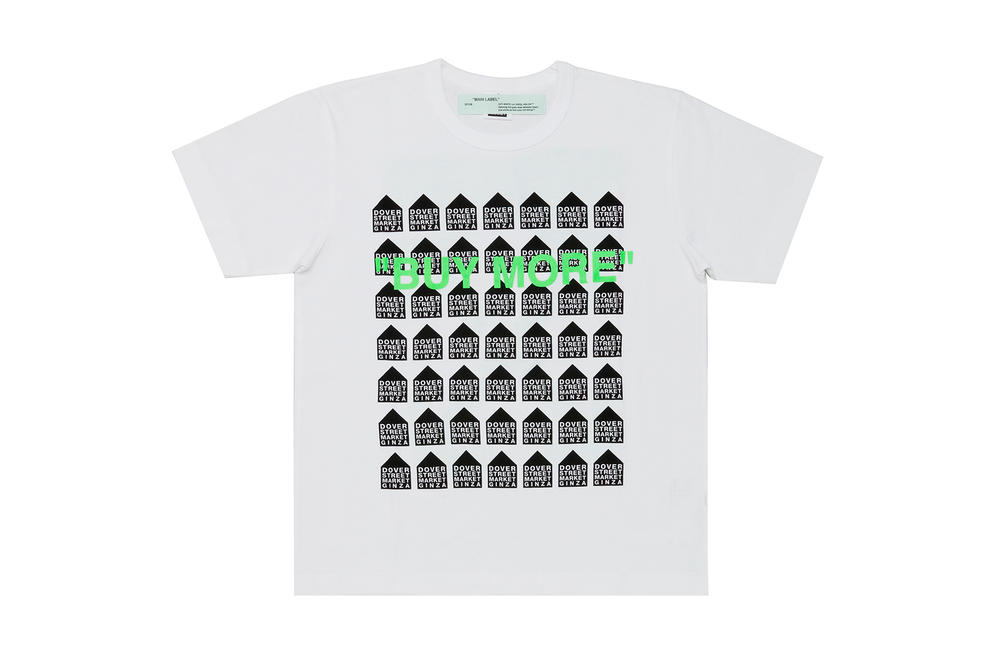 Dover Street Market Ginza 5th Anniversary T-shirts