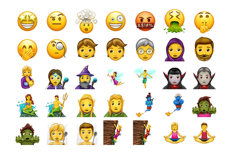 Emoji Update 2017 Breastfeeding Woman Mermaid Headscarf Wizard