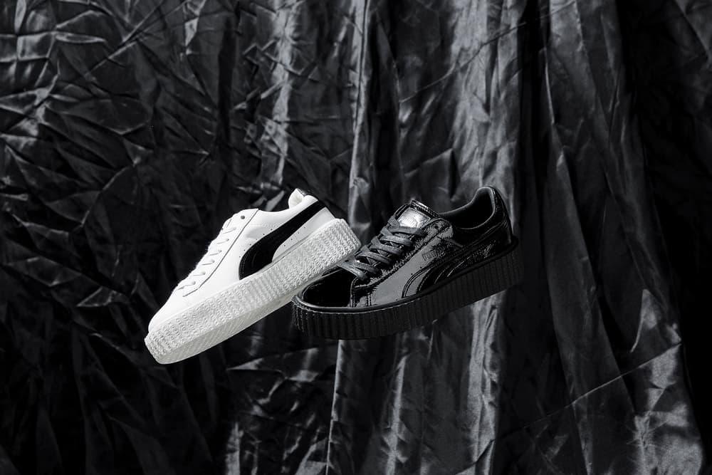 Rihanna Fenty Puma Creeper Crinkled Leather