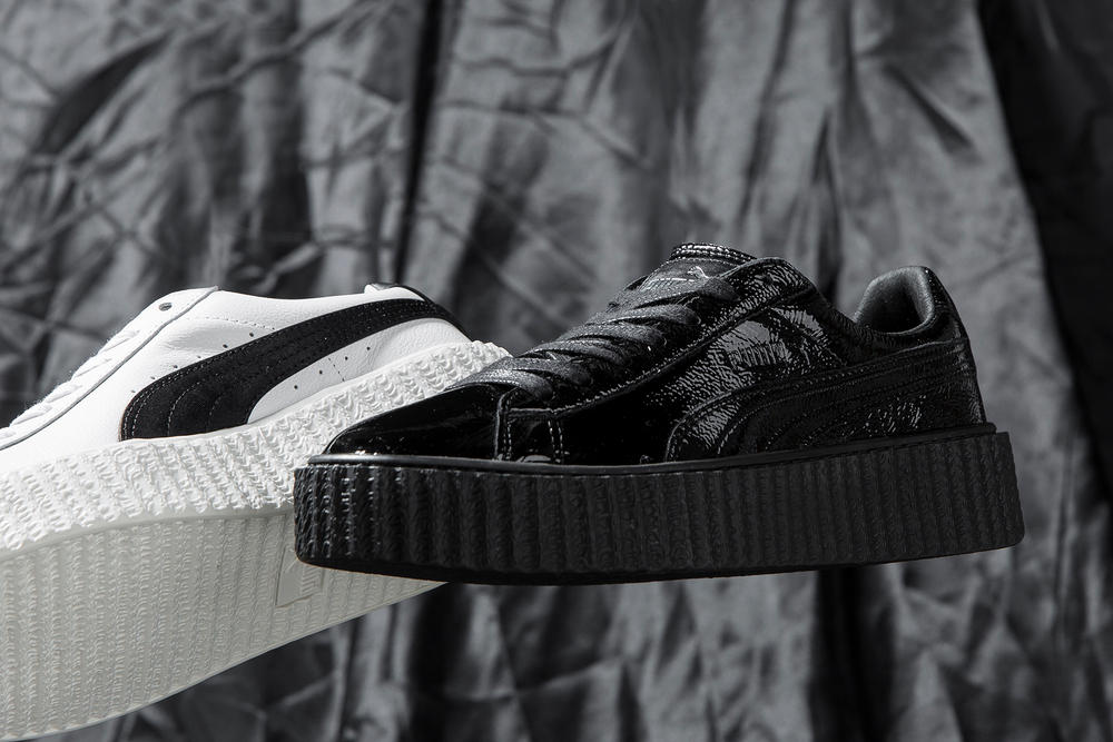 hot sales ef2c2 ee043 First Look at Crinkled Leather Fenty PUMA Creeper | HYPEBAE