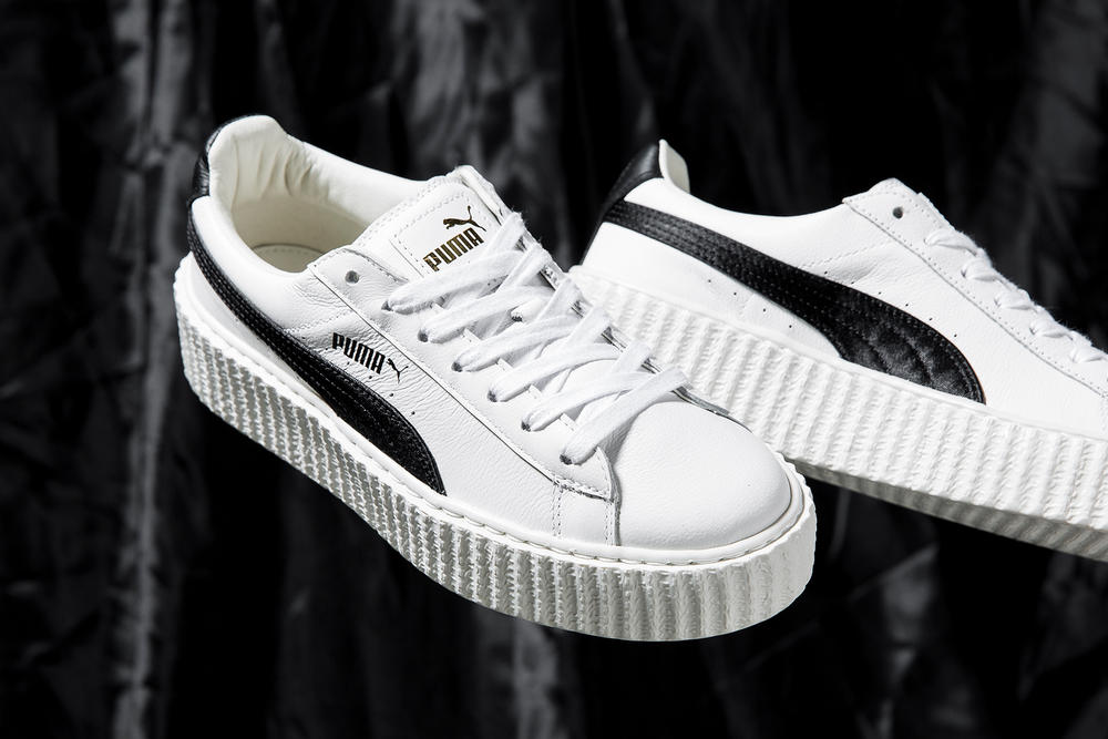 hot sales 205c5 3f205 First Look at Crinkled Leather Fenty PUMA Creeper | HYPEBAE
