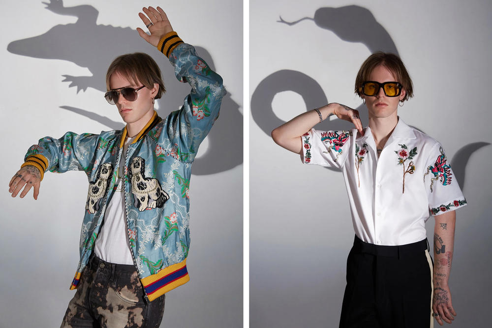 Gucci SSENSE Editorial Animal