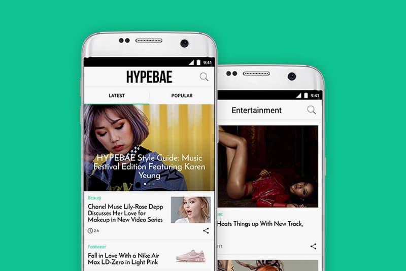 HYPEBAE App Android Google Hypebeast