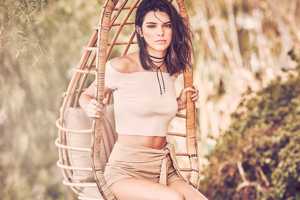 Kendall Jenner Penshoppe 2017 Spring Summer Campaign Lookbook