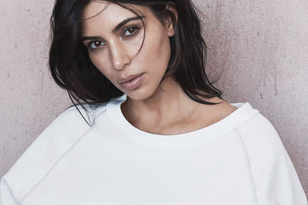 Kim Kardashian Vogue Australia 2016 June