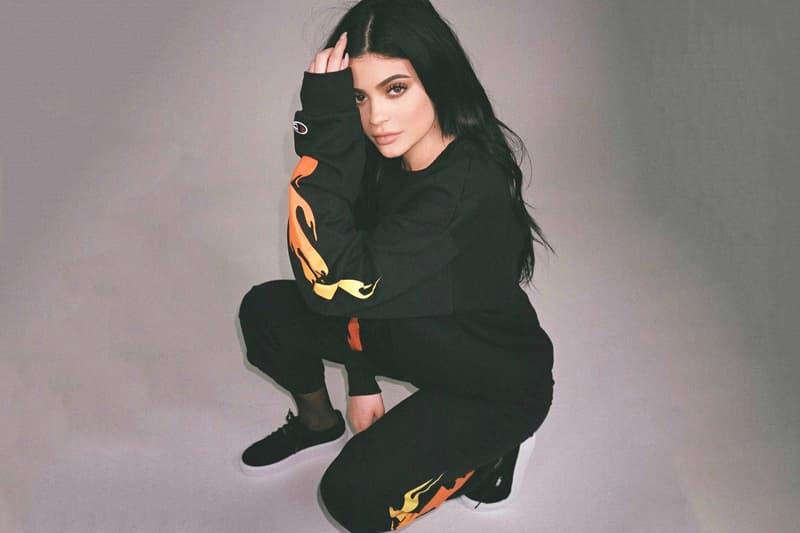Kylie Jenner Flames Merch