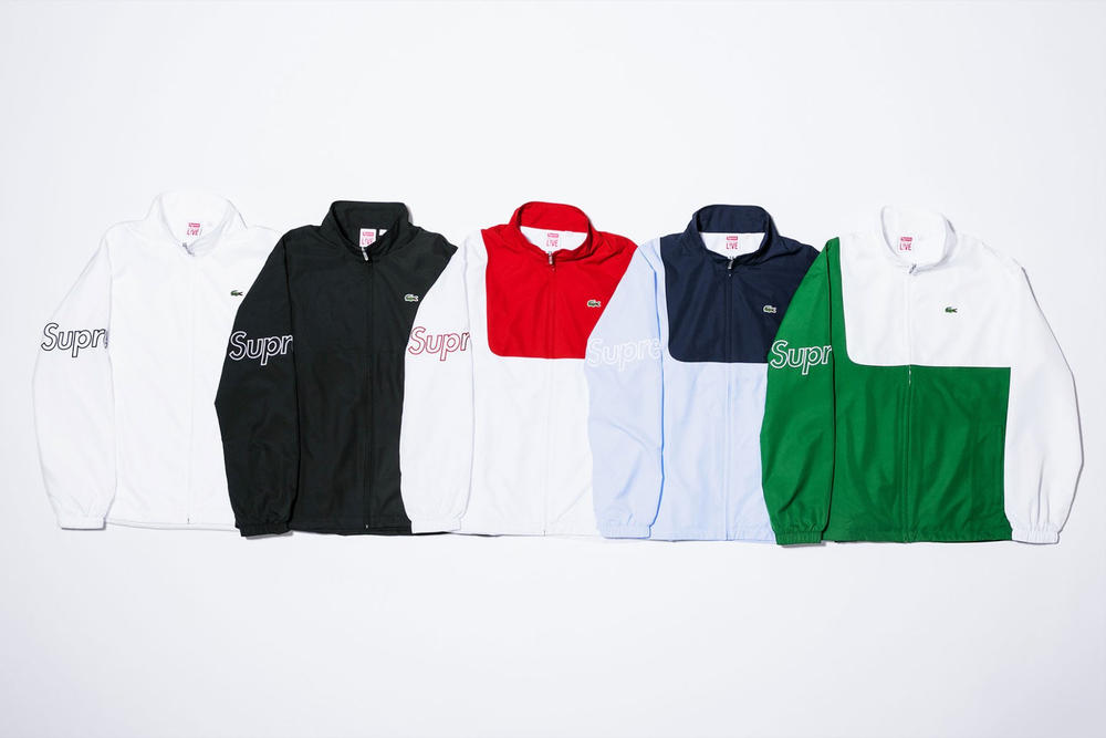 Supreme Lacoste 2017 Spring Summer Collection
