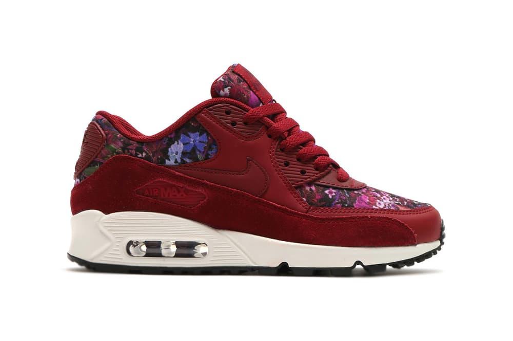 Nike Air Max 90 Floral Team Red