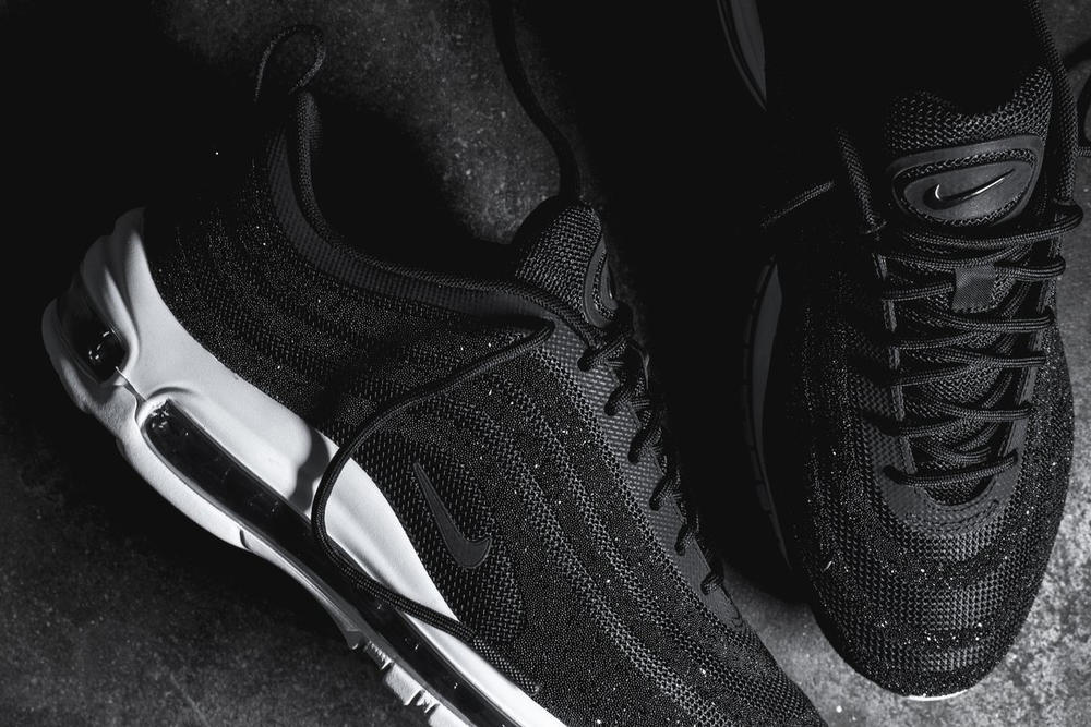 Nike Covers the Air Max 97 LX in Black Swarovski Crystals  4d0f846f2