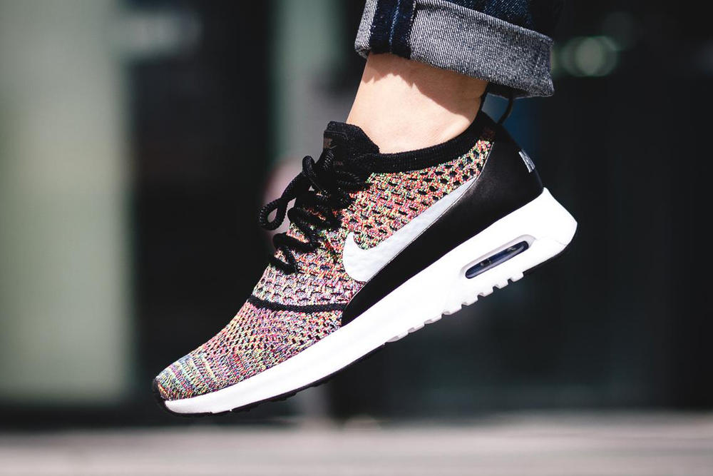 7d758652e063 Nike Air Max Thea Ultra Flyknit Gets Colorful Update in Multicolor ...