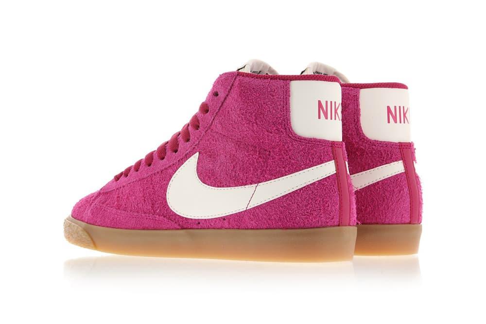 Nike Blazer Mid Suede Vintage Sport Fuschia