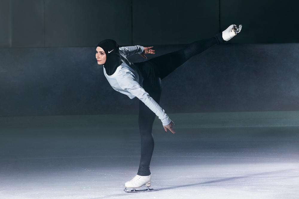 Nike Pro Hijab Muslim Female Athletes