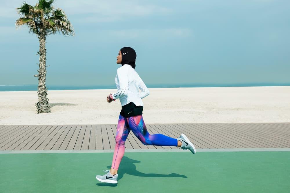 Nike Pro Hijab Muslim Female Athletes