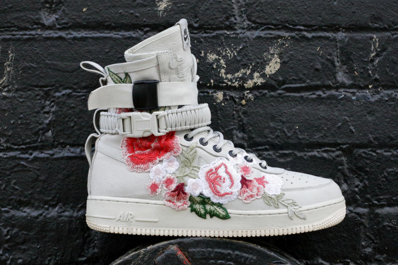 Nike Flowerbomb Special Field Air Force 1 ceezem customs