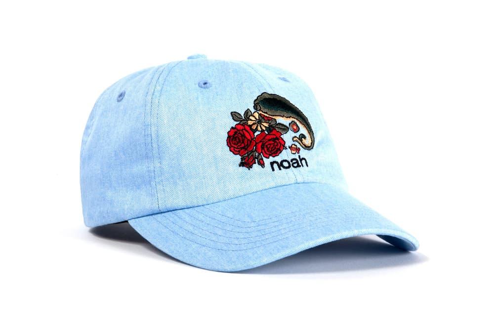 Noah Floral Paisley Caps