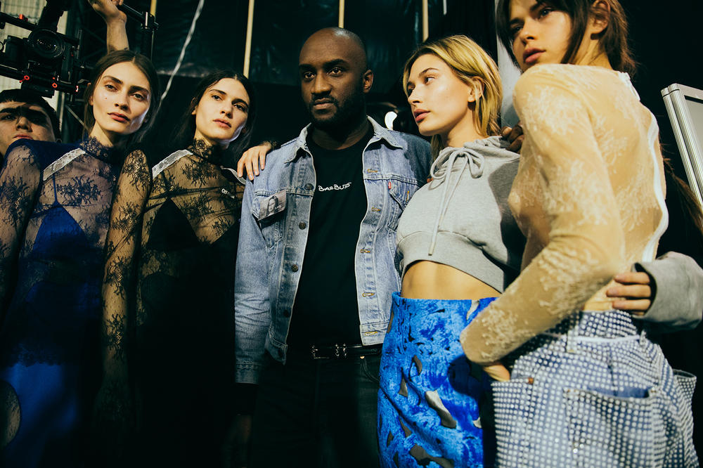 OFF-WHITE 2017 Fall Winter Backstage Virgil Abloh Hailey Baldwin