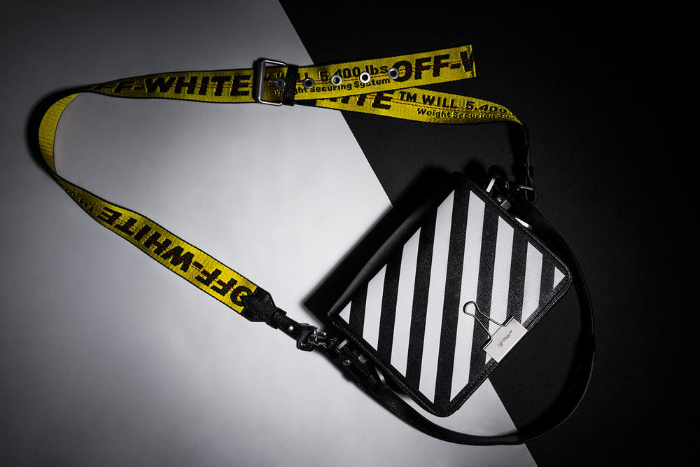 5c9c421c A Closer Look at the OFF-WHITE Binder Clip Bag | HYPEBAE