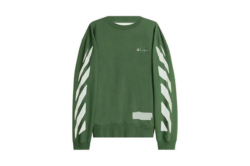 OFF-WHITE x Champion Sweater