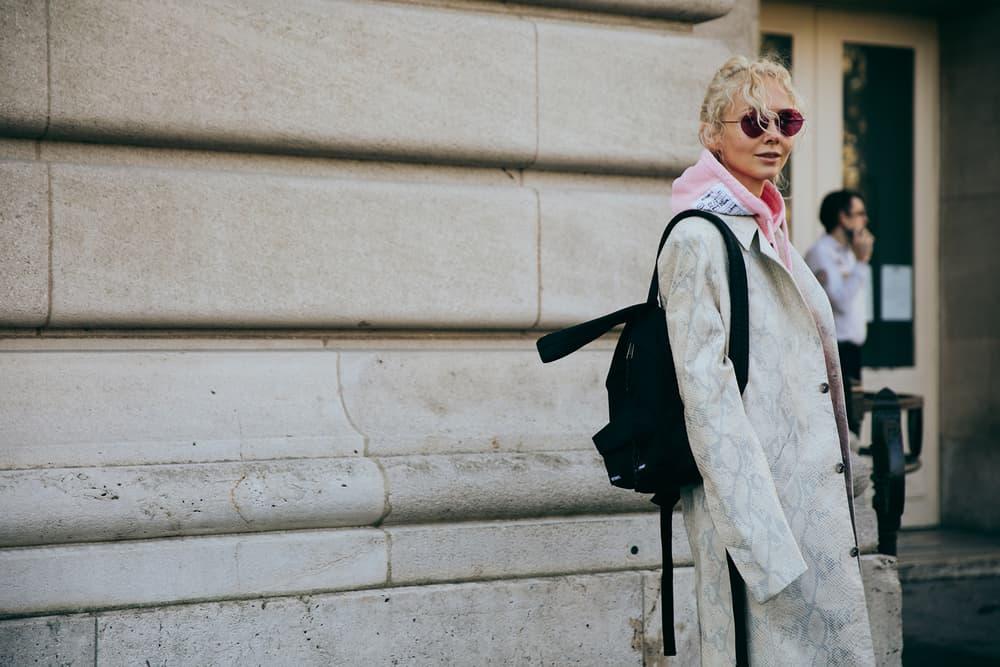 Paris Fashion Week 2017 Streetsnaps Street Style Bella Hadid