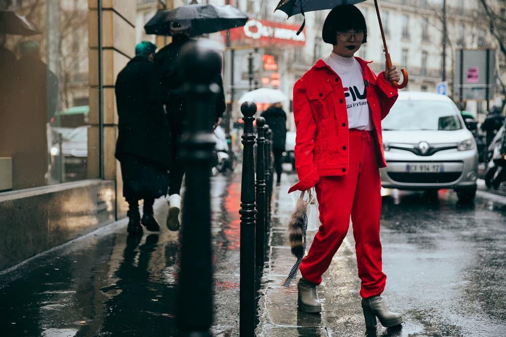 Paris Fashion Week 2017 Best Streetsnaps Street Style