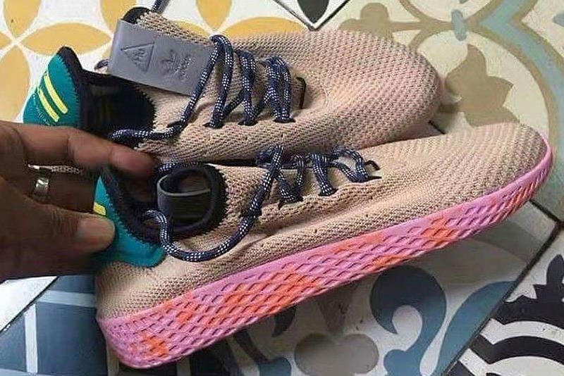 Pharrell Williams x adidas Originals Human Race Tan Pink