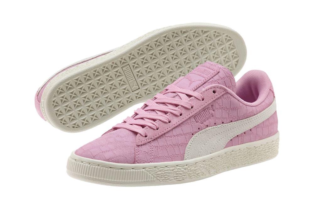 PUMA Suede Classic Croc Emboss Prism Pink