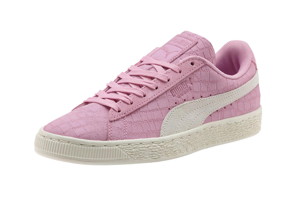 ca44813f8d6 Match with your Chanel. PUMA Suede Classic Croc Emboss Prism Pink