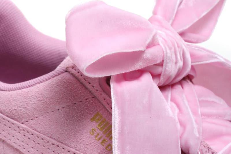 PUMA Suede Heart Reset Prism Pink Aruba Blue