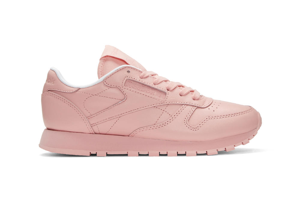 13b79f4583cc Here s a Pastel Pink Reebok Classic Leather