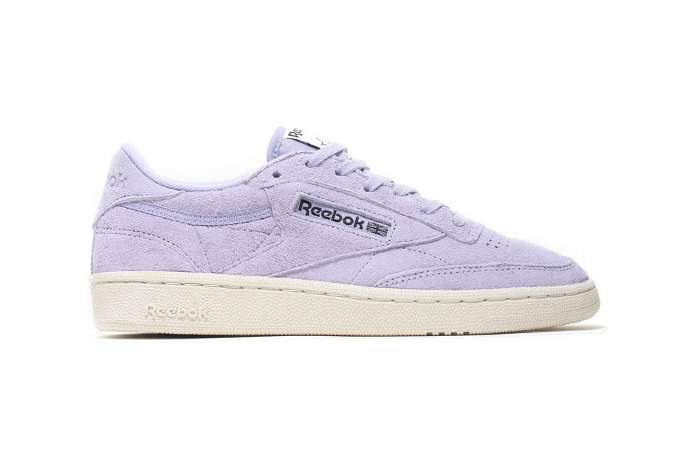 6a473af99fd Reebok Club C 85 Pastel Drops in Moon Violet