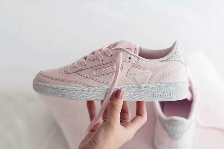 Reebok Club C Diamond Pink Grey