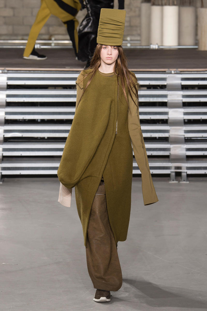 Rick Owens 2017 Fall Collection