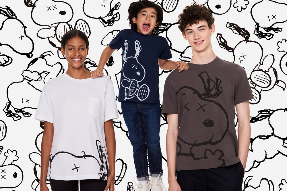 KAWS Peanuts Snoopy Uniqlo UT 2017 Collection