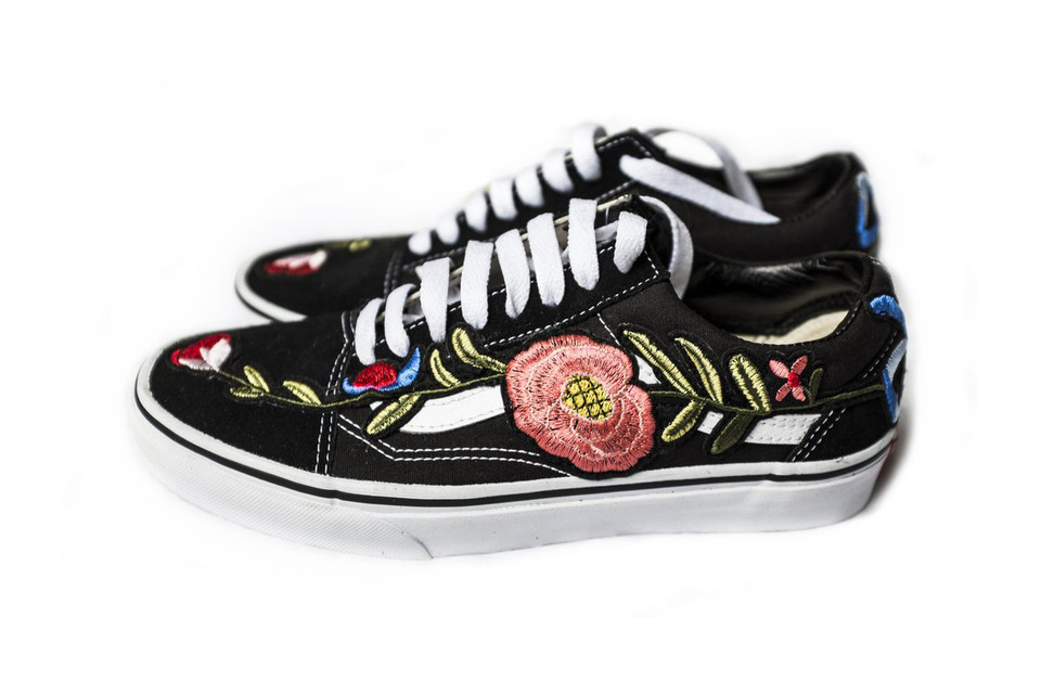 a24801cfe6 Shop Coolporate s Vans Old Skool Floral Custom