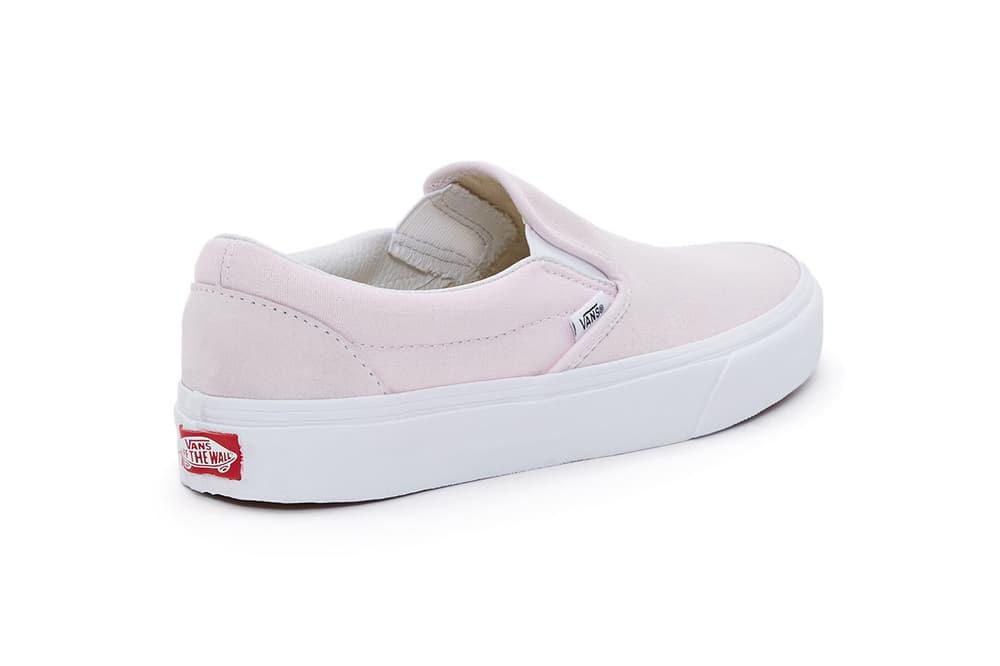 Vans Slip-On Pastel Pack Pink Blue Yellow