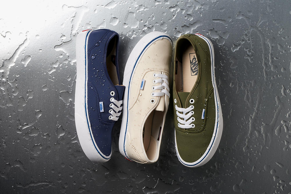Vault by Vans Schoeller Design 2017 Weather Ready Collection