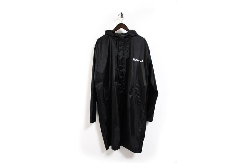 VETEMEMES Meme Definition Raincoat Vetements