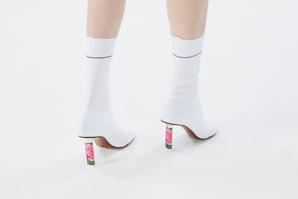 Vetements Sock Ankle Boots Rose Lighter