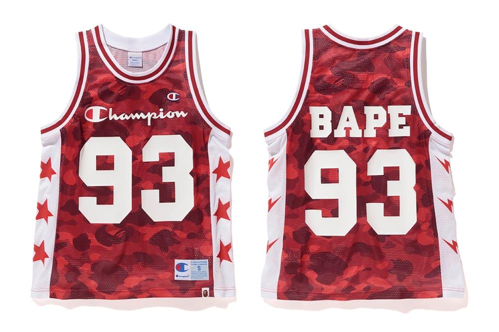 BAPE Champion 2017 Spring Summer