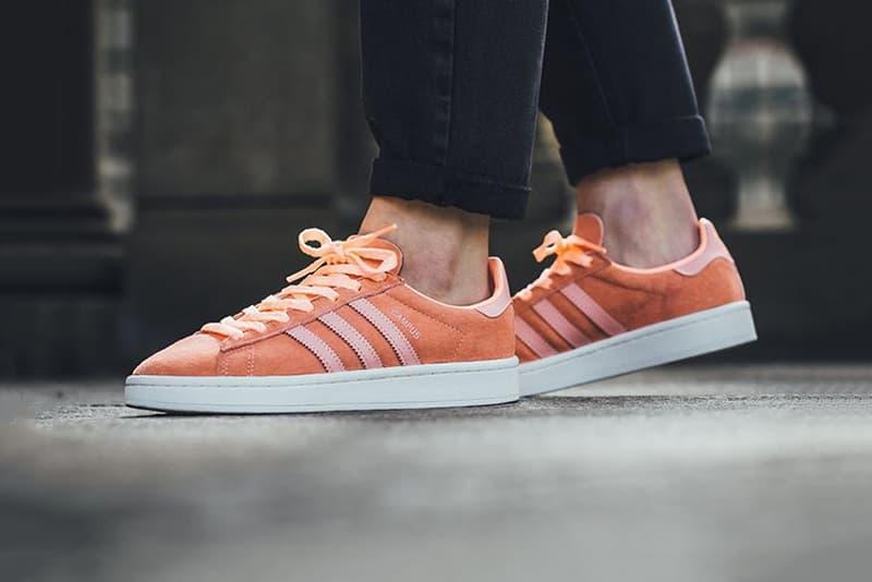 adidas Campus Sun Glow Orange Coral Peach
