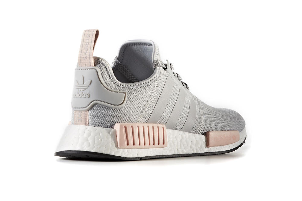 388038e01c252 Pink and Grey adidas NMDs Restock at Foot Locker