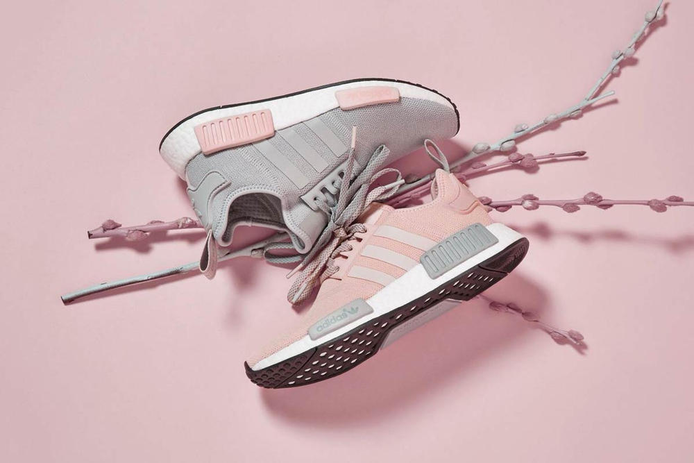 adidas NMD R1 Pink Grey Pack