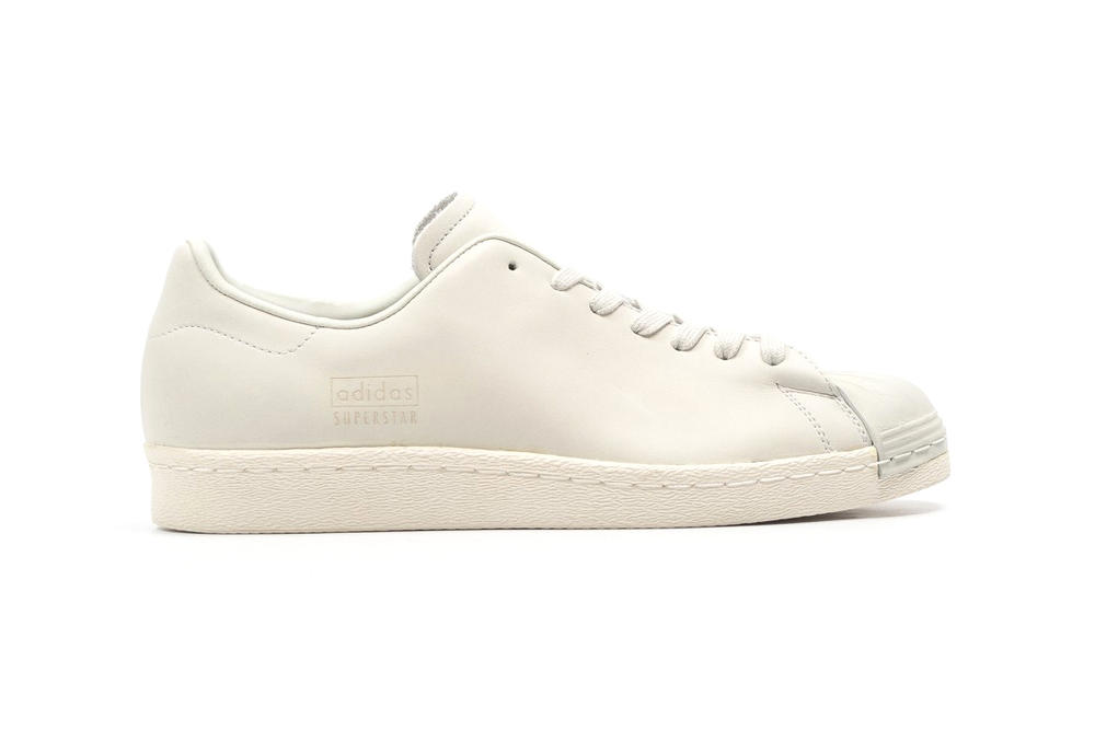 online store fc7fe 06a9a adidas Superstar 80s Clean Crystal White | HYPEBAE