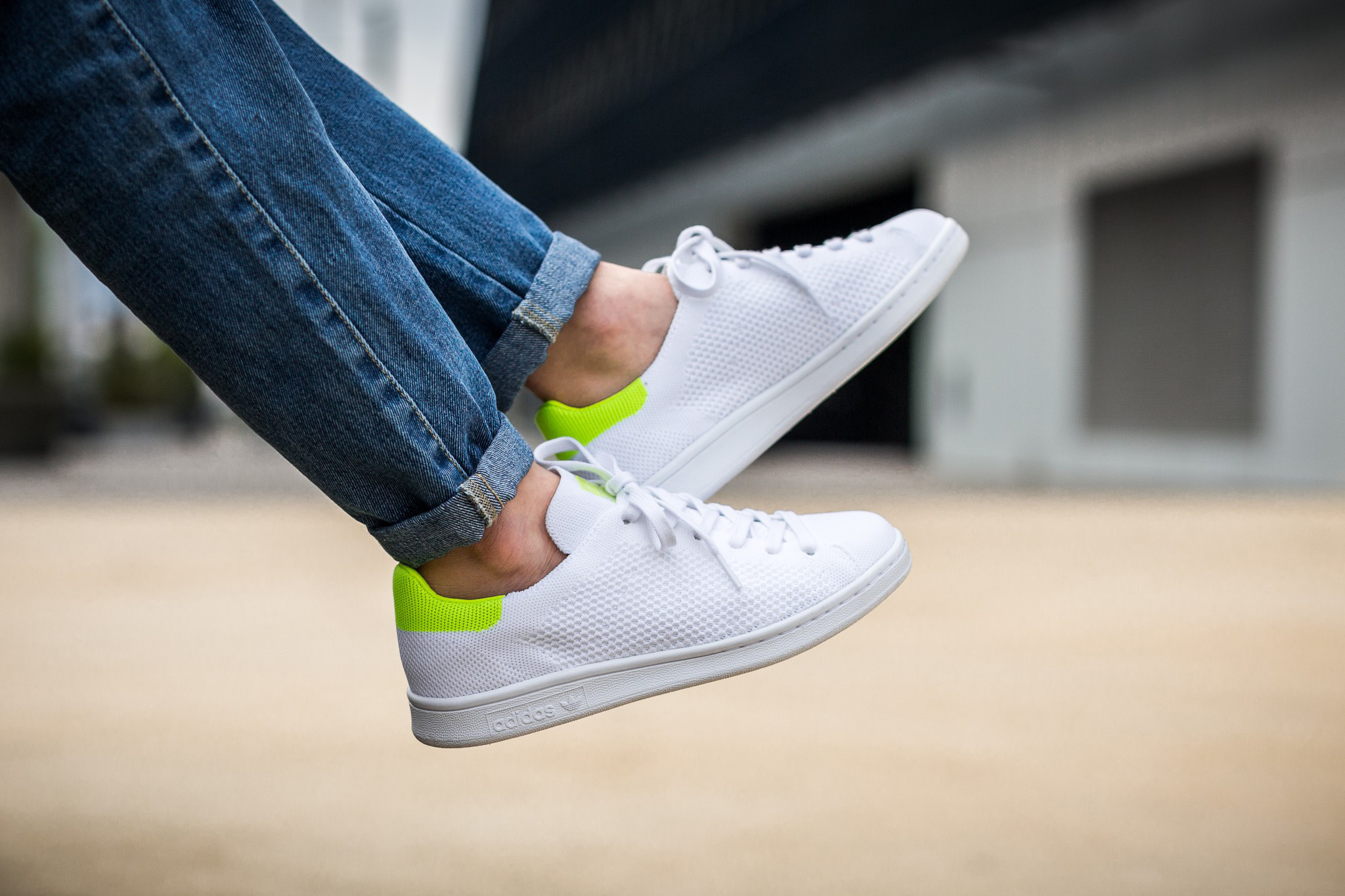 The adidas Stan Smith Solar Yellow Is