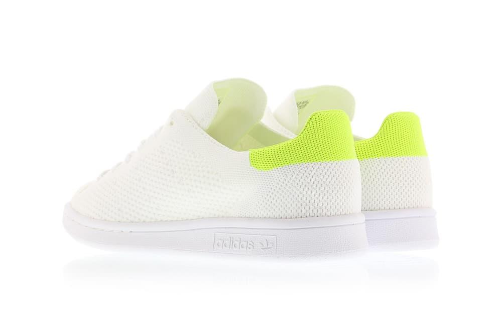 adidas Originals Stan Smith Primeknit Solar Yellow 99185c1d47