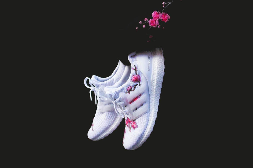 adidas UltraBOOST Cherry Blossom Custom