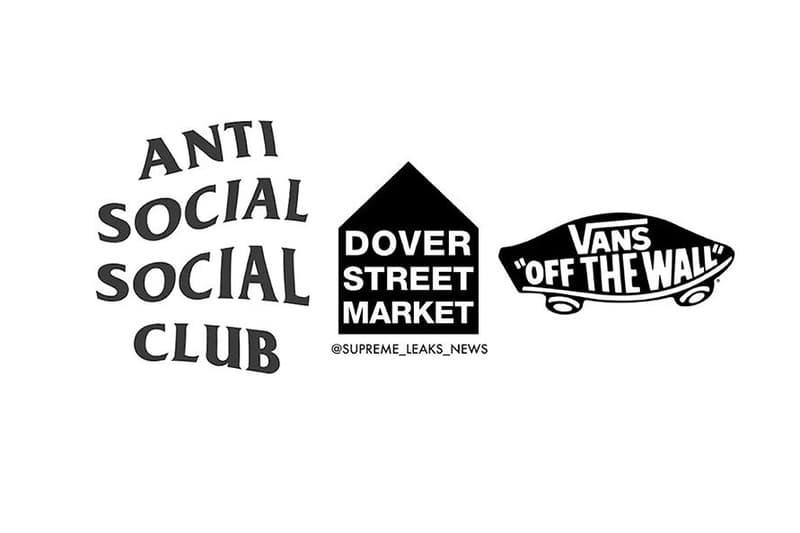 Anti Social Social Club x Vans x Dover Street Market